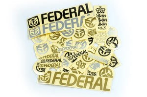 Federal 39pc sticker pack