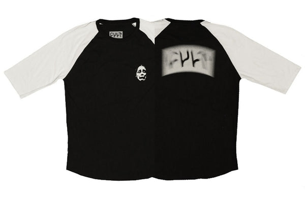 Cult Faded logo 3/4 sleeve t-shirt