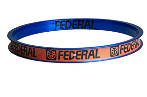 Federal Stance XL rim Clear blue 36 hole