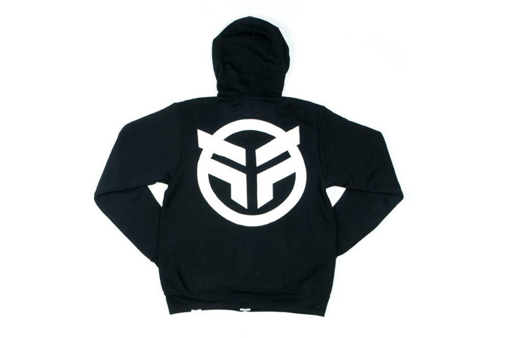 Federal Logo zip up hooded sweat