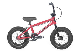 "Cult 2018 Juvenile 12"" bike Red with black parts 13.25"""