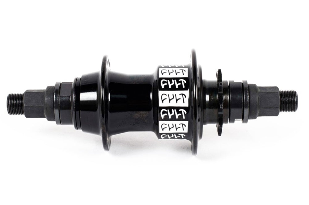 Cult LHD Crew freecoaster hub with NDS hubguard Black 9 tooth