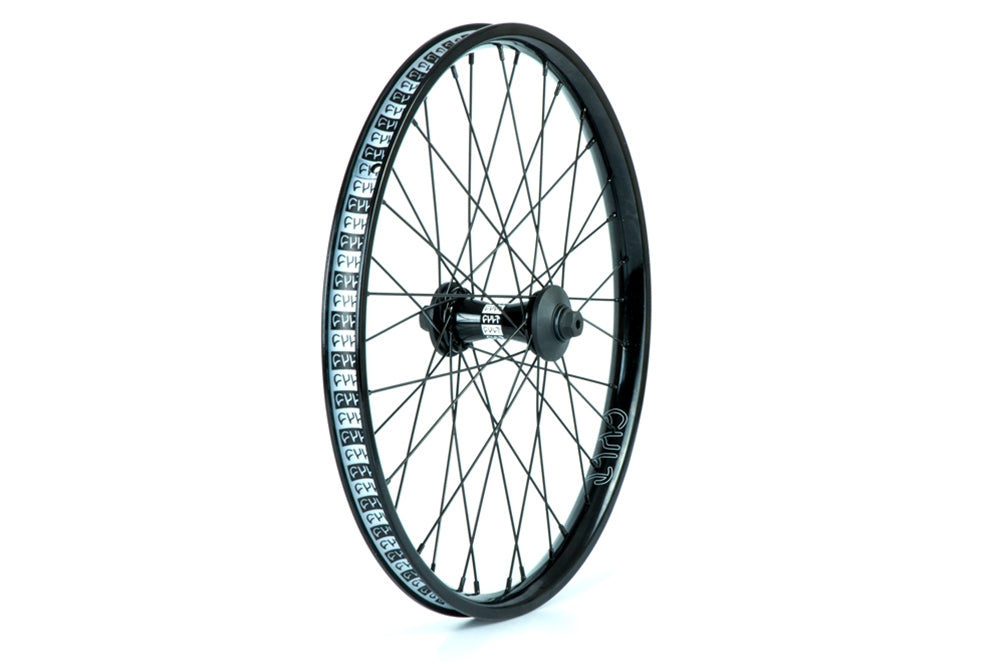 "Cult Crew Aero front wheel with guards Black 10mm (3/8"")"