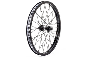 "Cult Crew Match front wheel with guards Black 10mm (3/8"")"