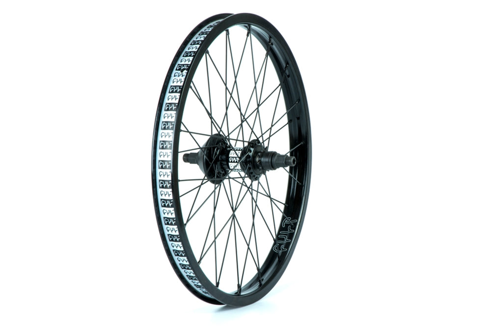 Cult Crew SDS Casstte Match rear wheel with NDS guard Black 9 tooth