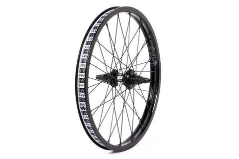 Cult LHD Crew freecoaster Match wheel with NDS guard Black 9 tooth