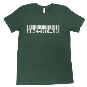 T-1 Terrible One Barcode T-Shirt