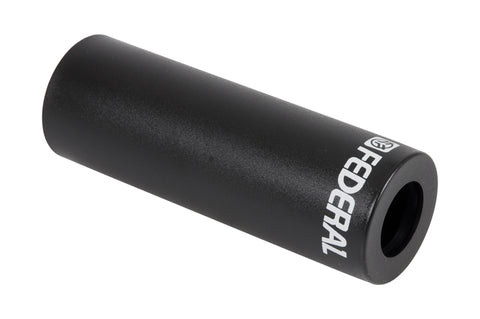 "Federal 4.15"" Plastic peg sleeve Black (each)"