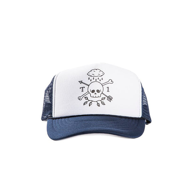 T1 RainSkull Mesh Trucker Hat