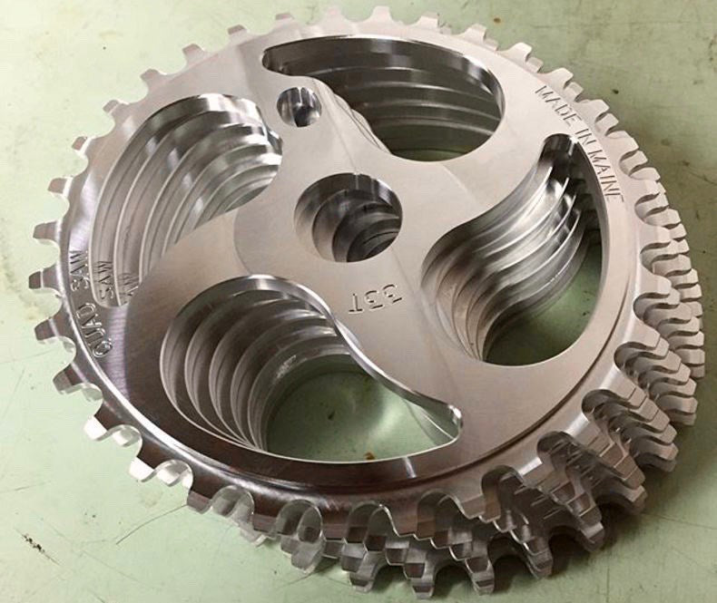Quadsaw Sprocket