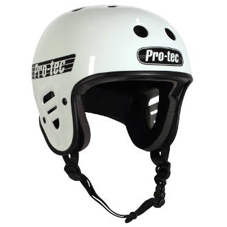 PRO-TEC FULL CUT CERTIFIED HELMET GLOSS WHITE