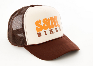 S&M keep on trucking mesh trucker cap