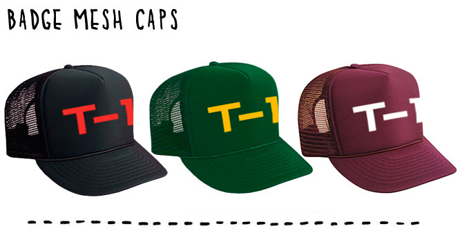 T1 Badge Mesh Cap