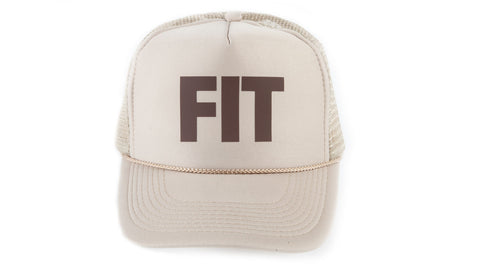FIT Block Trucker Hat