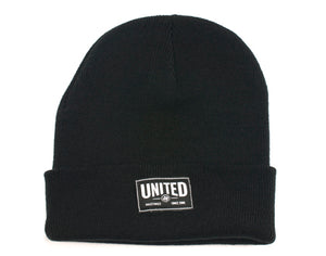 United Signature Label Cuff Beanie