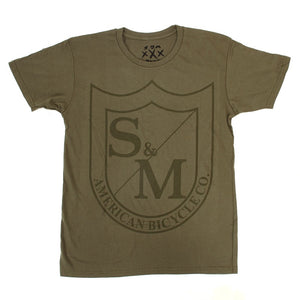 S&M big shield green t