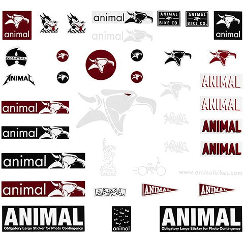 Animal Assorted Sticker Pack