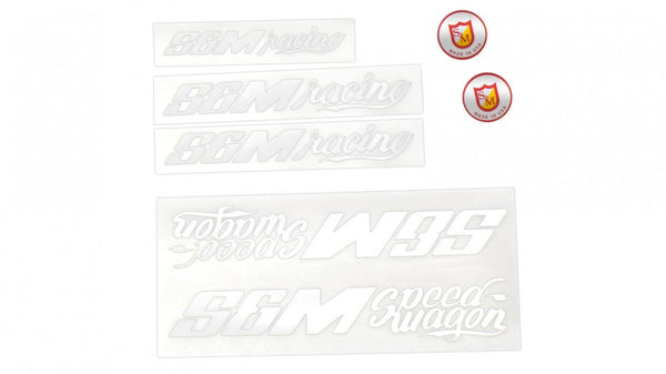S&M Speedwagon Sticker Pack