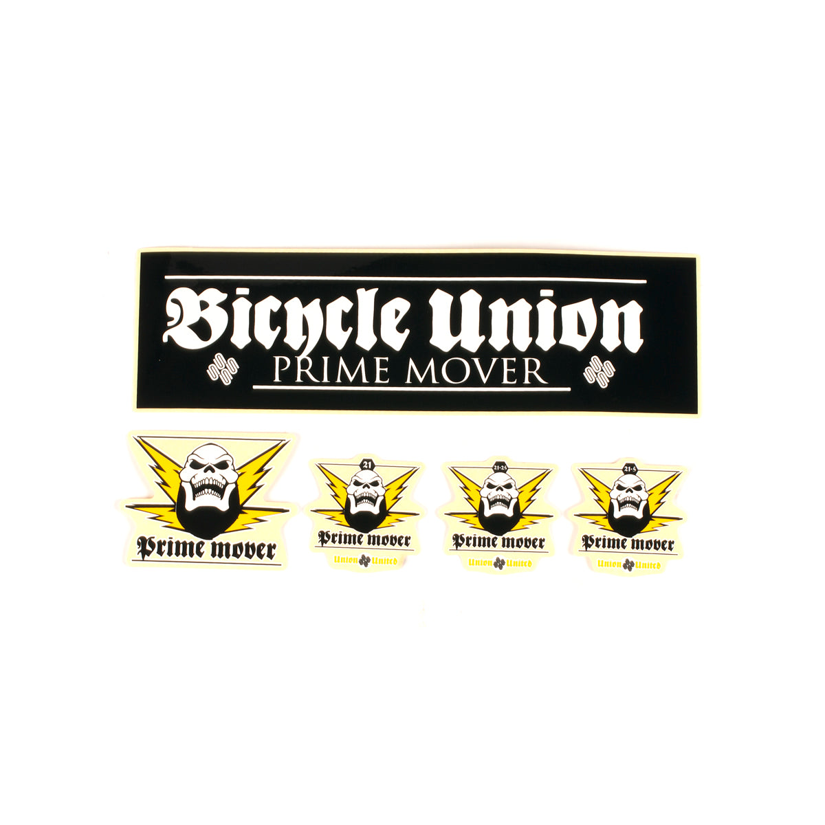 United Prime Mover Sticker Pack