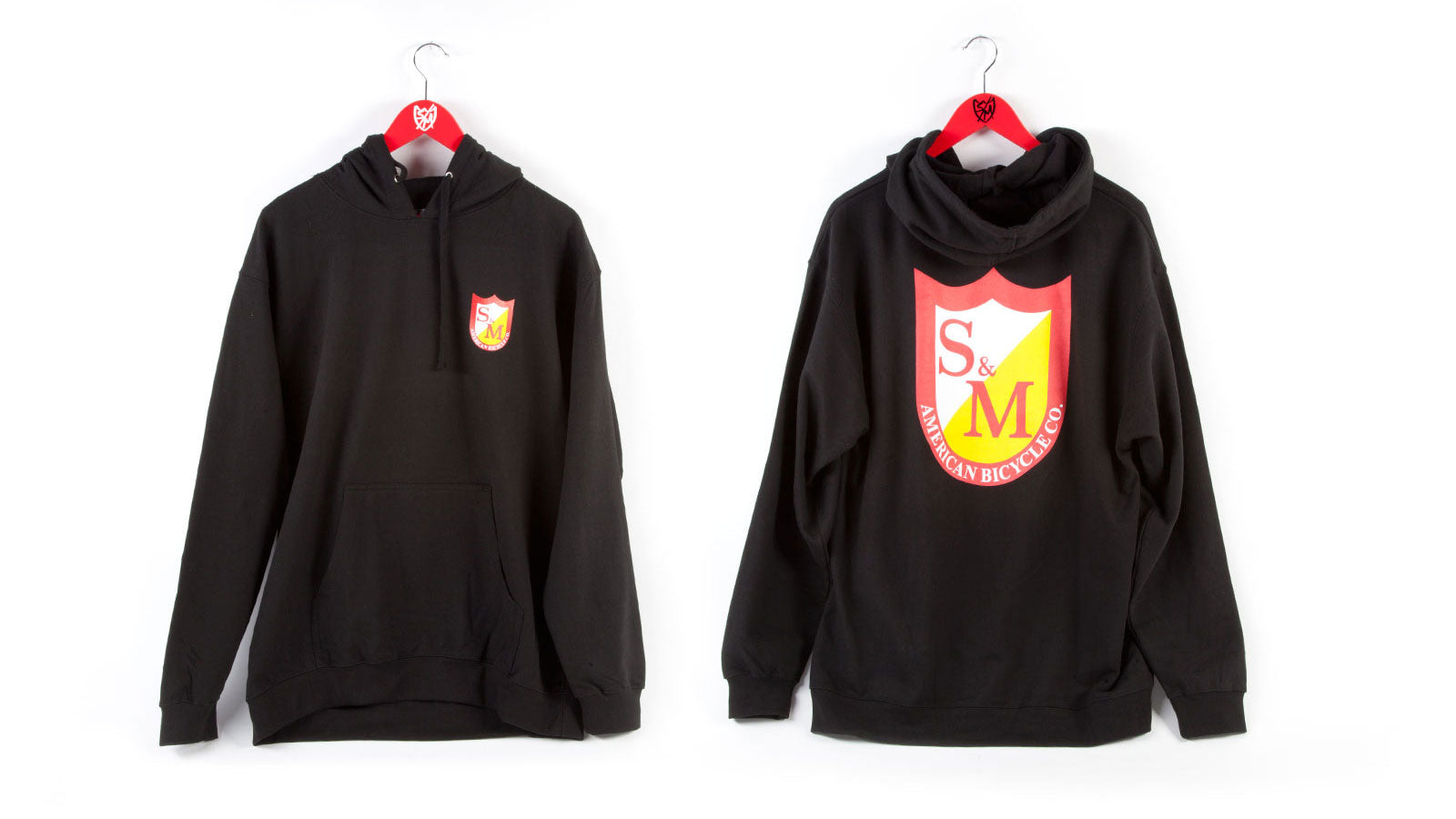 S&M Shield Pullover Hooded Sweat