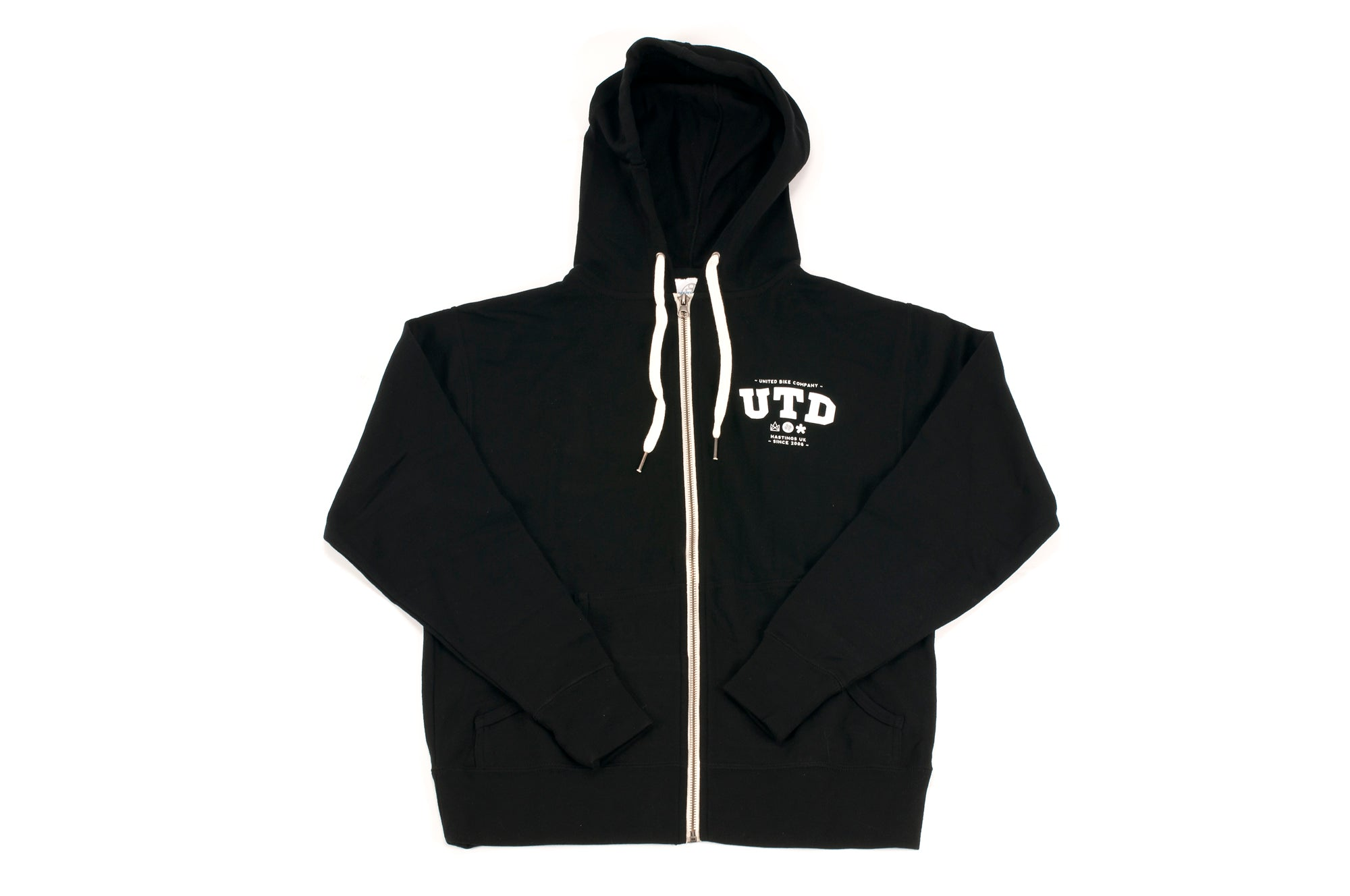 United Heavy Mix Zip-Up Sweat