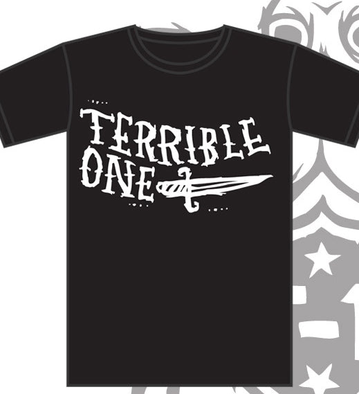 Terrible 1 knife t shirt