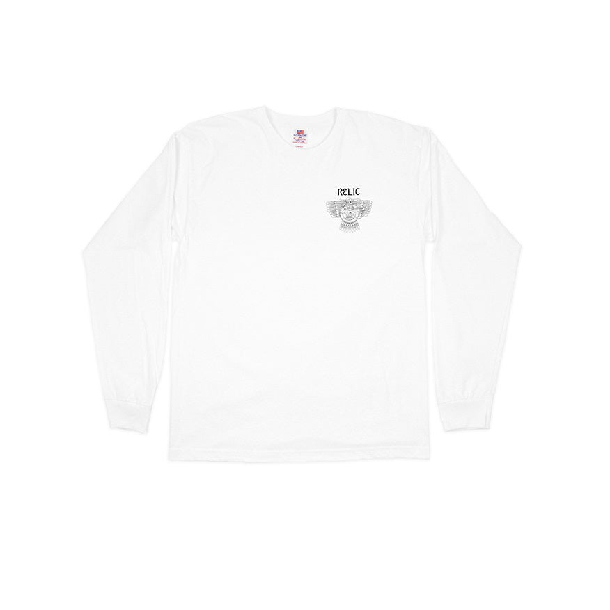 Relic Archer Longsleeve T-Shirt White XL