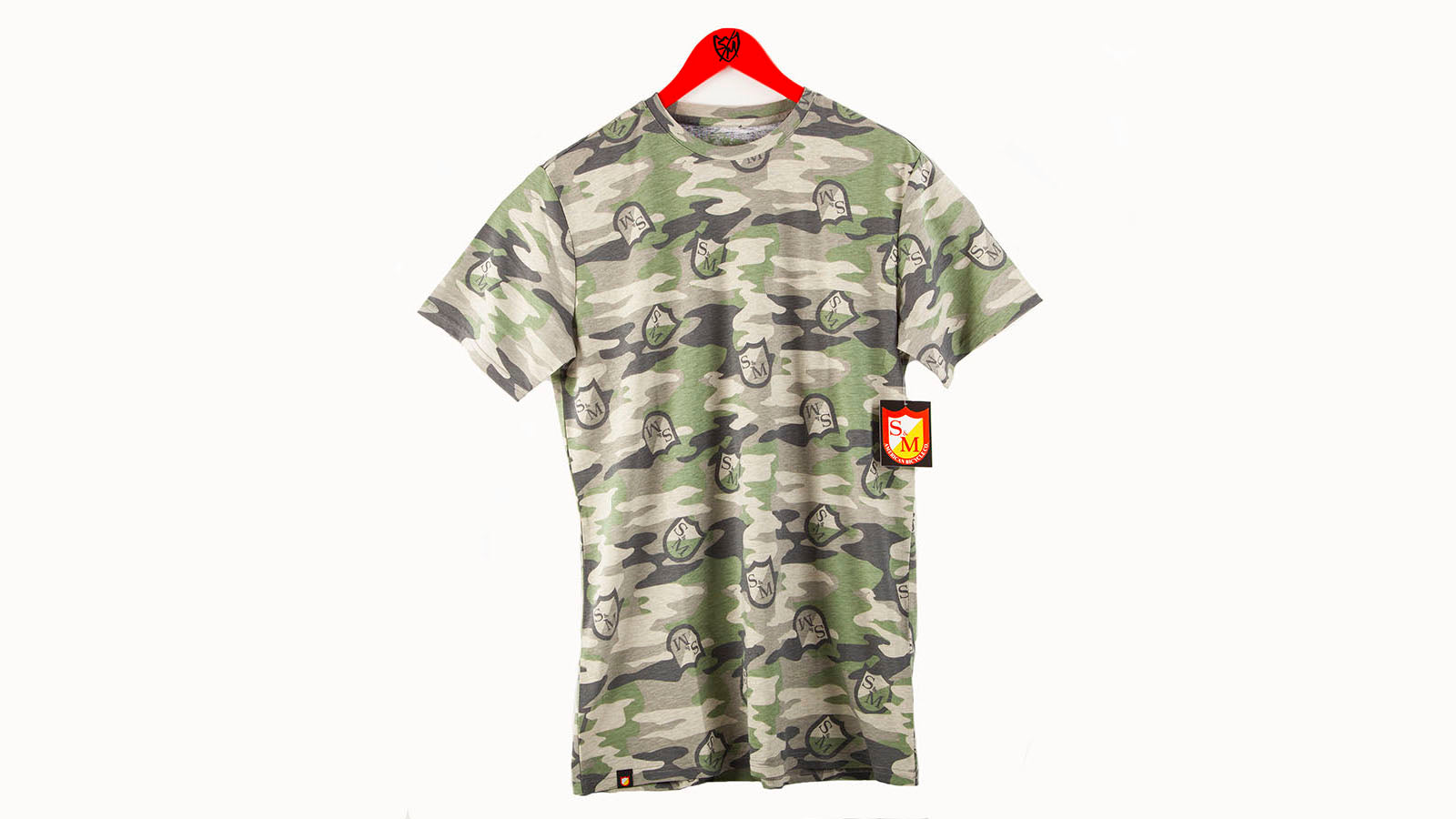 S&M Camo Shield T-Shirt