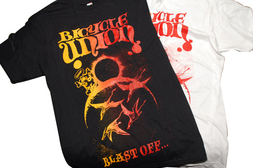 Bicycle Union Blast off t shirt