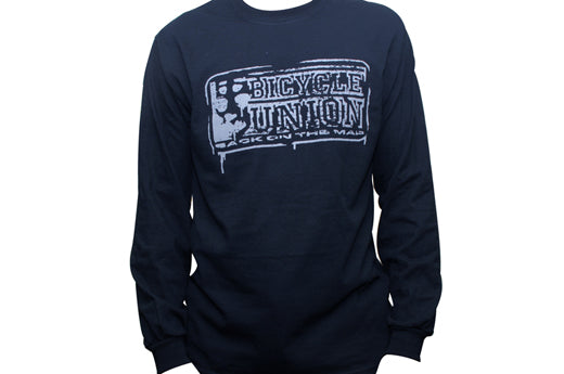 Bicycle Union Map longsleeve t shirt