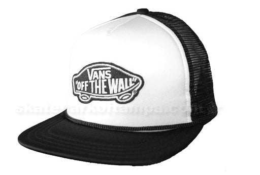 Vans mesh cap black/white