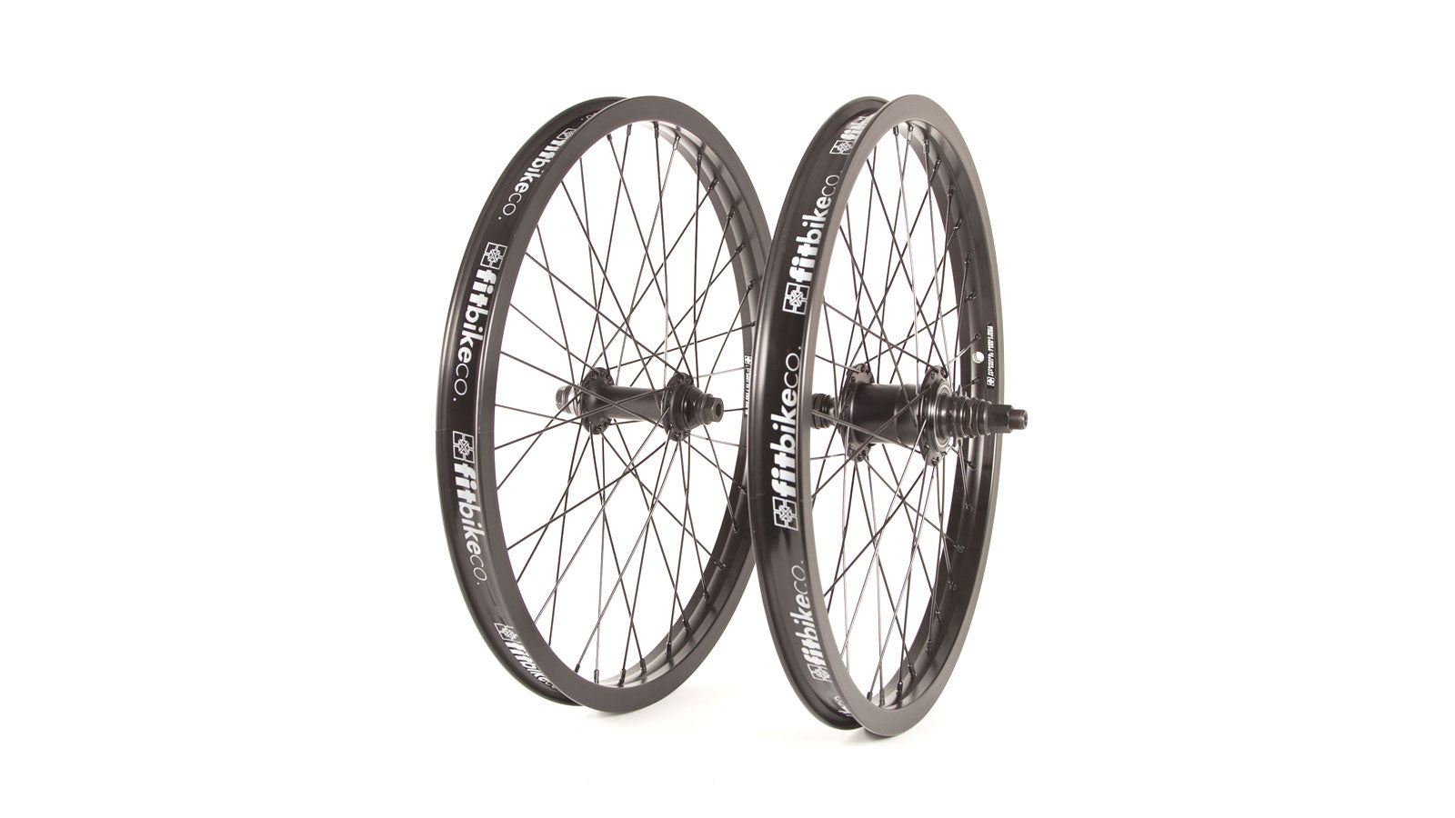 "FIT FREECOASTER RHD WHEELSET 20"" BLACK"