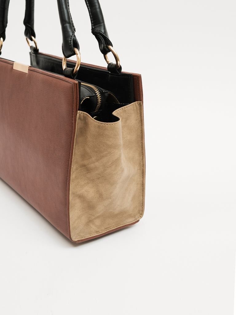 Medium Solid Bag With Textured Sides (Base+Skin) - nobby