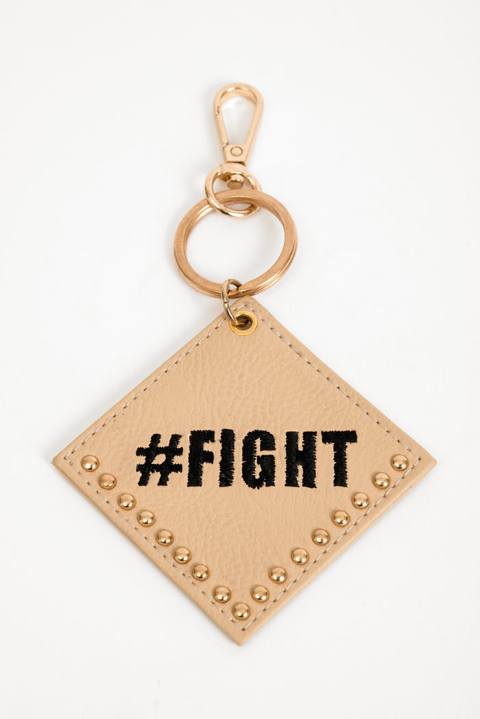 Fight Slogan Charm - nobby