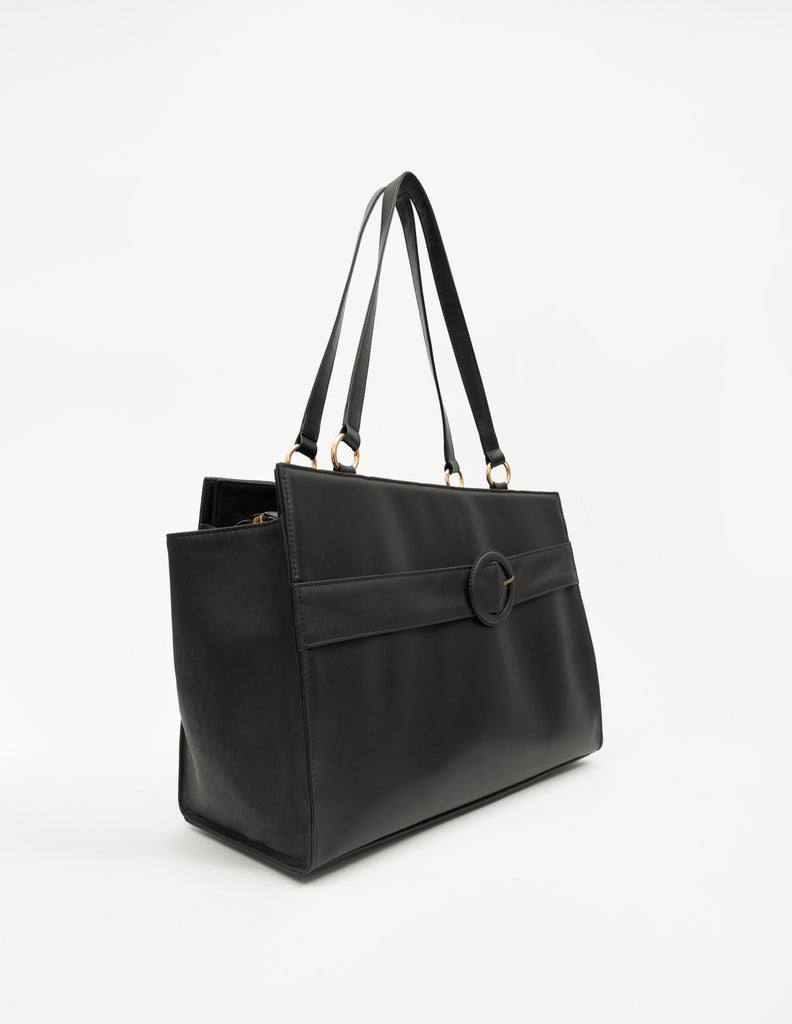 Large Solid Bag With Buckle Belt (Base+Skin) - nobby
