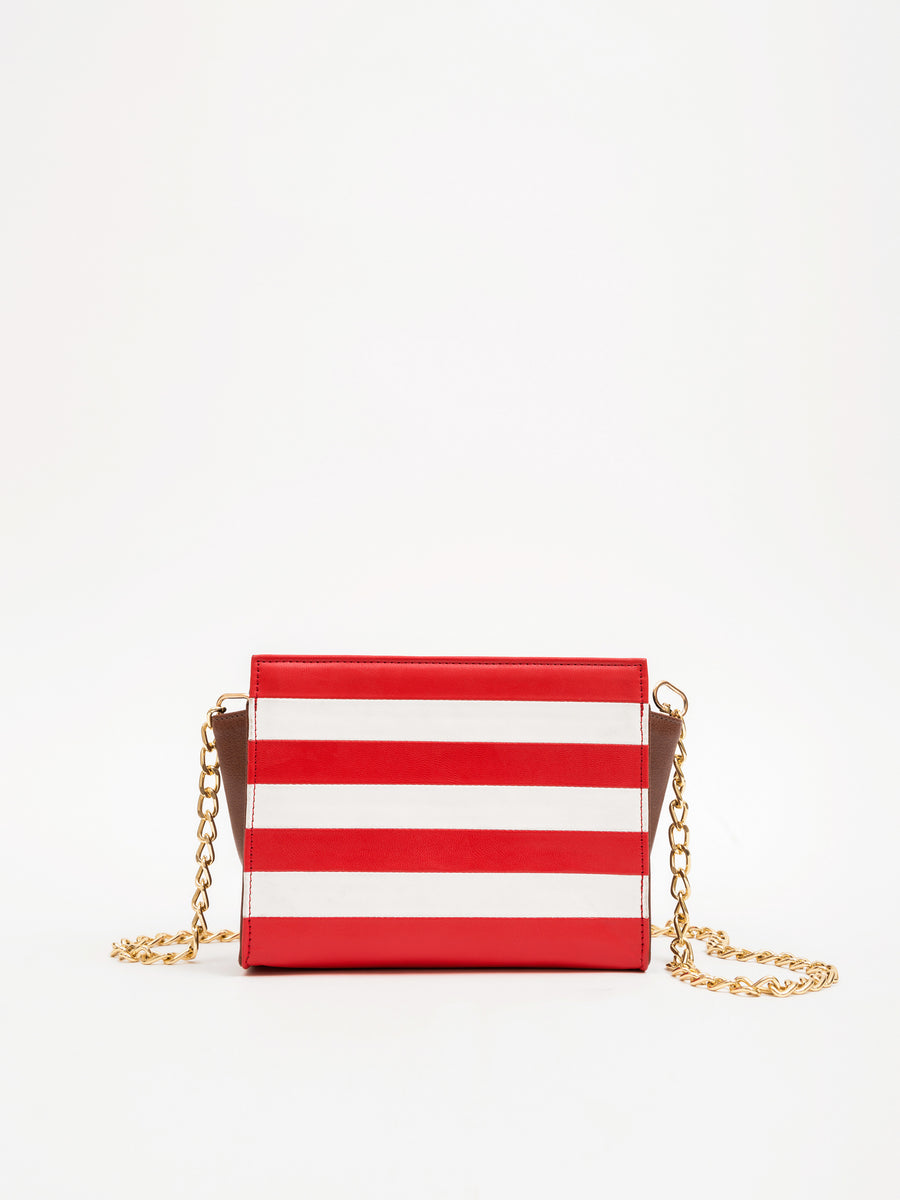 Small Striped Mini Tote Bag (Base+Skin) - nobby