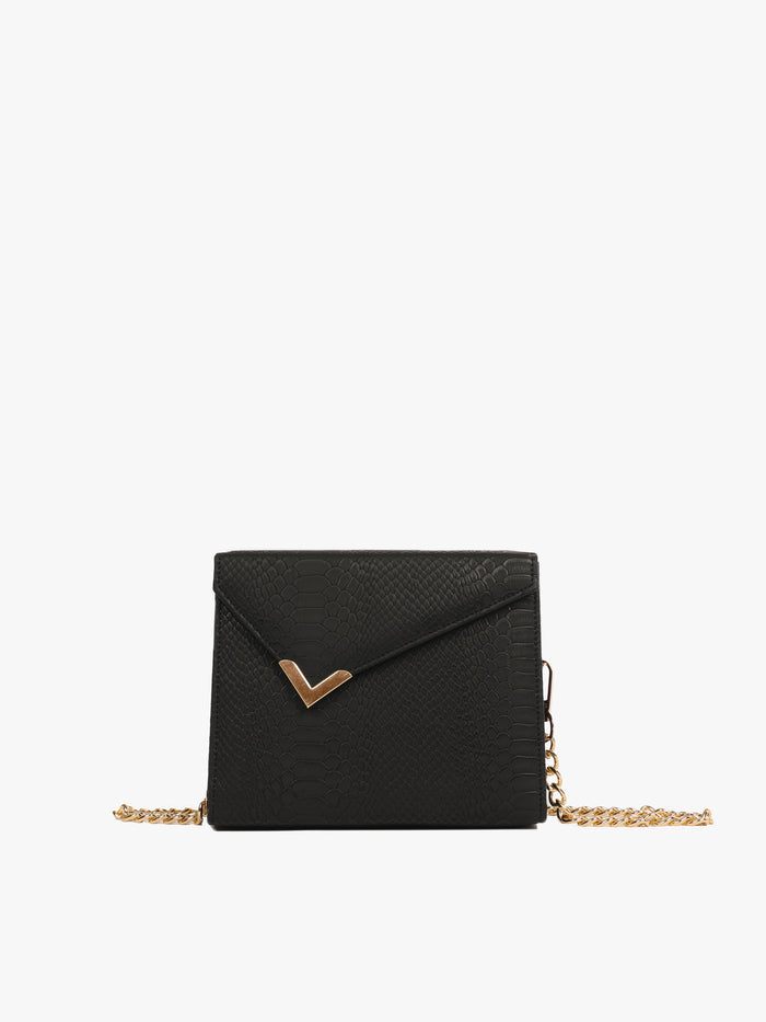 Small Solid Bag With Diagonal Flap (Base+Skin) - nobby