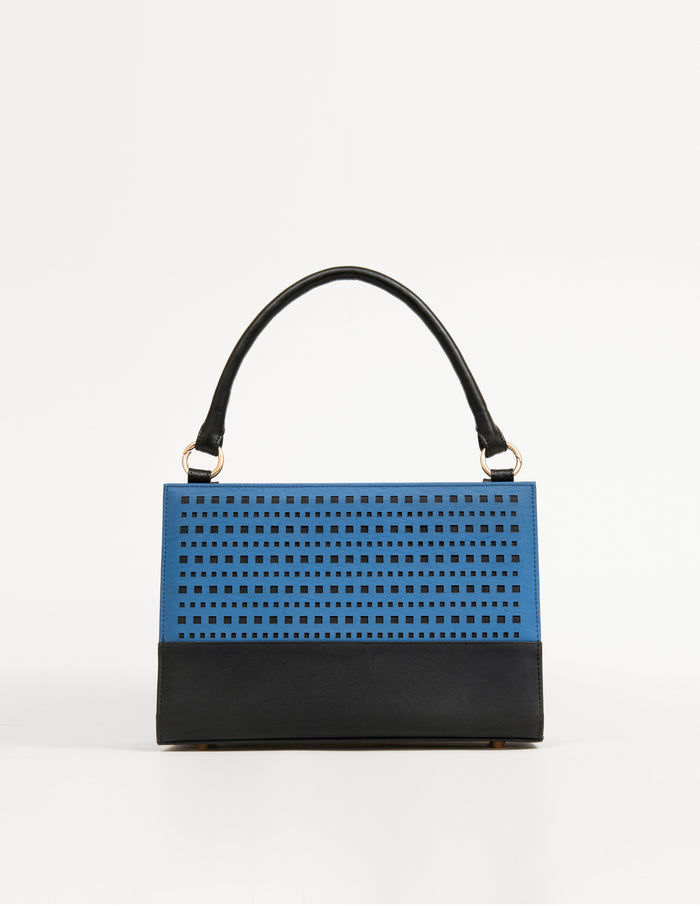 Medium Bag With Geometric Pattern (Base+Skin) - nobby