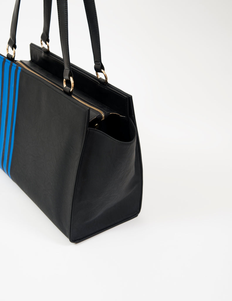 Large Striped Black Bag (Base+Skin) - nobby