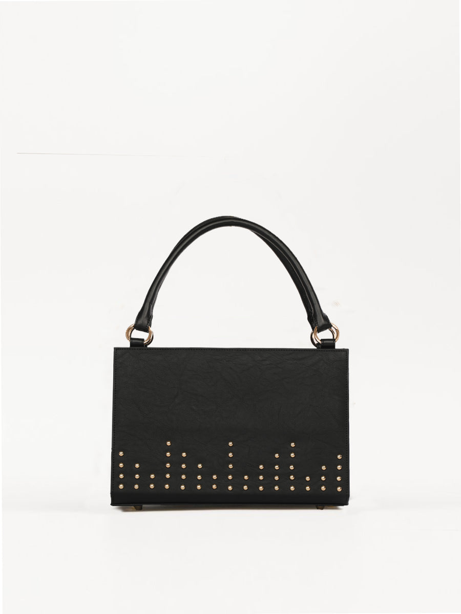 Medium Bag With Stud Detail (Base+Skin) - nobby
