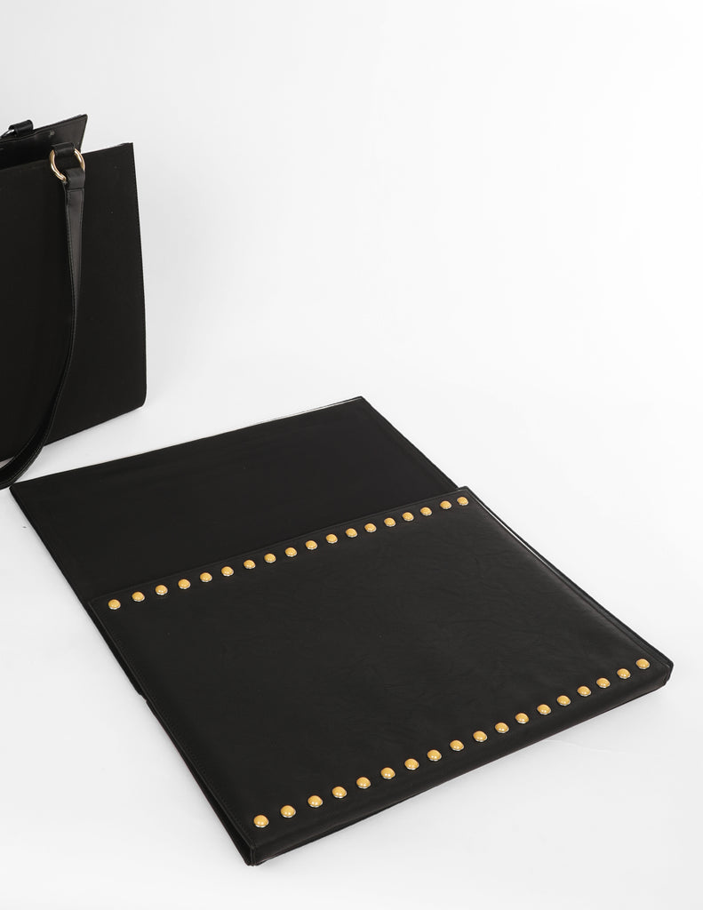 Large Bag With Stud Detail (Base+Skin) - nobby