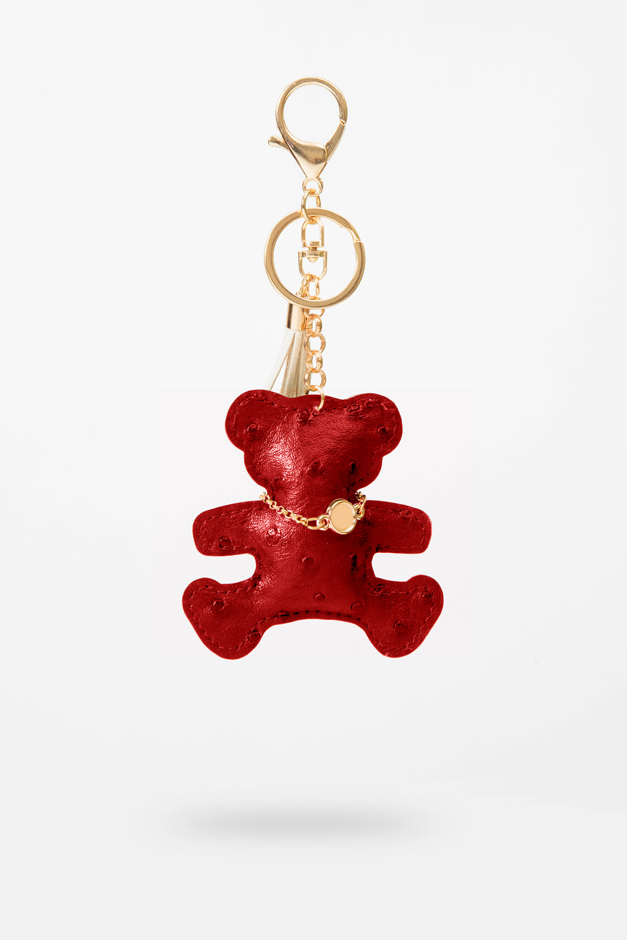 Red Teddy Keychain - nobby