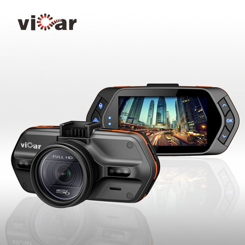 Car DVR Camera DVRs VICAR S6  Ambarella A7LA50 1296P Night Vision Camcorder LDWS Video Recorder With GPS Tracker Speedcam