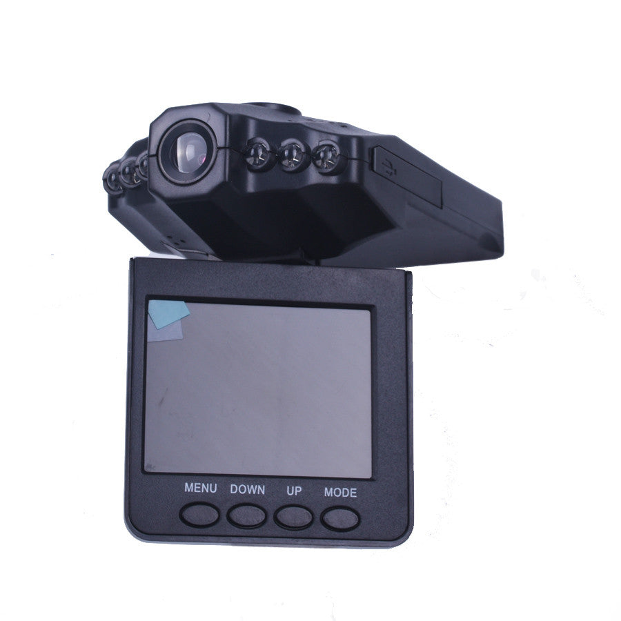 New 2.5'' LCD HD Car DVR 6 leds Night vision 270 Degree Car Camera video Recorder detector dash cam