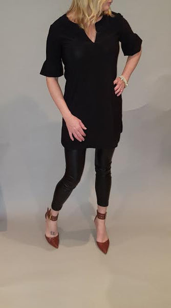 Peplum Sleeve Tunic/Dress