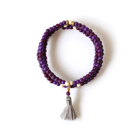 Stacks Bracelet - Purple Stacks