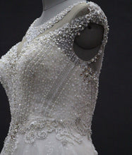 """Bellisima"" Couture By Tess Bridal Luxury Beaded Ballgown A-Line Modified Ballgown"