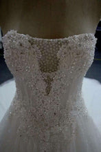 """Catherine"" Couture By Tess Bridal"" Beautifully Beaded Luxury Wedding Dress A-Line Modified Ballgown"