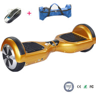 COOL&FUN Hoverboard, gyropode 6,5 pouces Doré