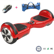 COOL&FUN Hoverboard, gyropode 6,5 pouces Rouge
